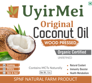 Coconut Oil - Woodpressed