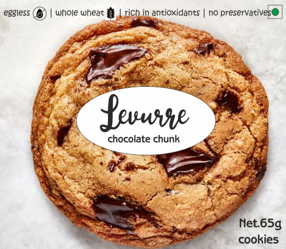 Levurre - Chocolate Chunk Cookies - 2Pcs