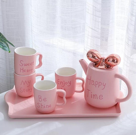 Happy Coffee/Tea Set