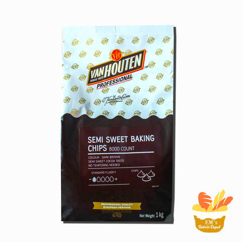 Van Houten Semi-Sweet Baking Chips for sale | Em's Baker's Depot PH