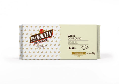 Van Houten White Chocolate Compound