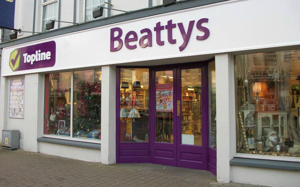 Beattys store front