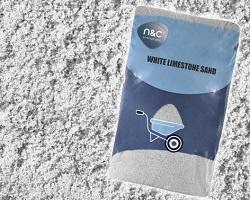 25KG WHITE LIMESTONE SAND - Beattys of Loughrea , www.beattys.ie