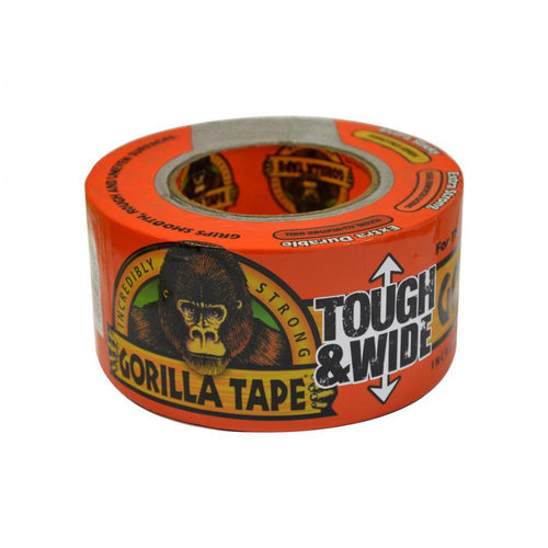 Gorilla Tough & Wide Tape - 76mm x 27m - Beattys of Loughrea , www.beattys.ie