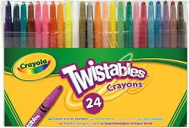 Crayola  24 Twistable Crayons Buy Instore or online at beattys.ie