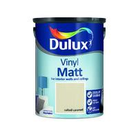 Georgian Cream Dulux Vinyl Matt Colours Paint - 5 Litre - Beattys of Loughrea , www.beattys.ie