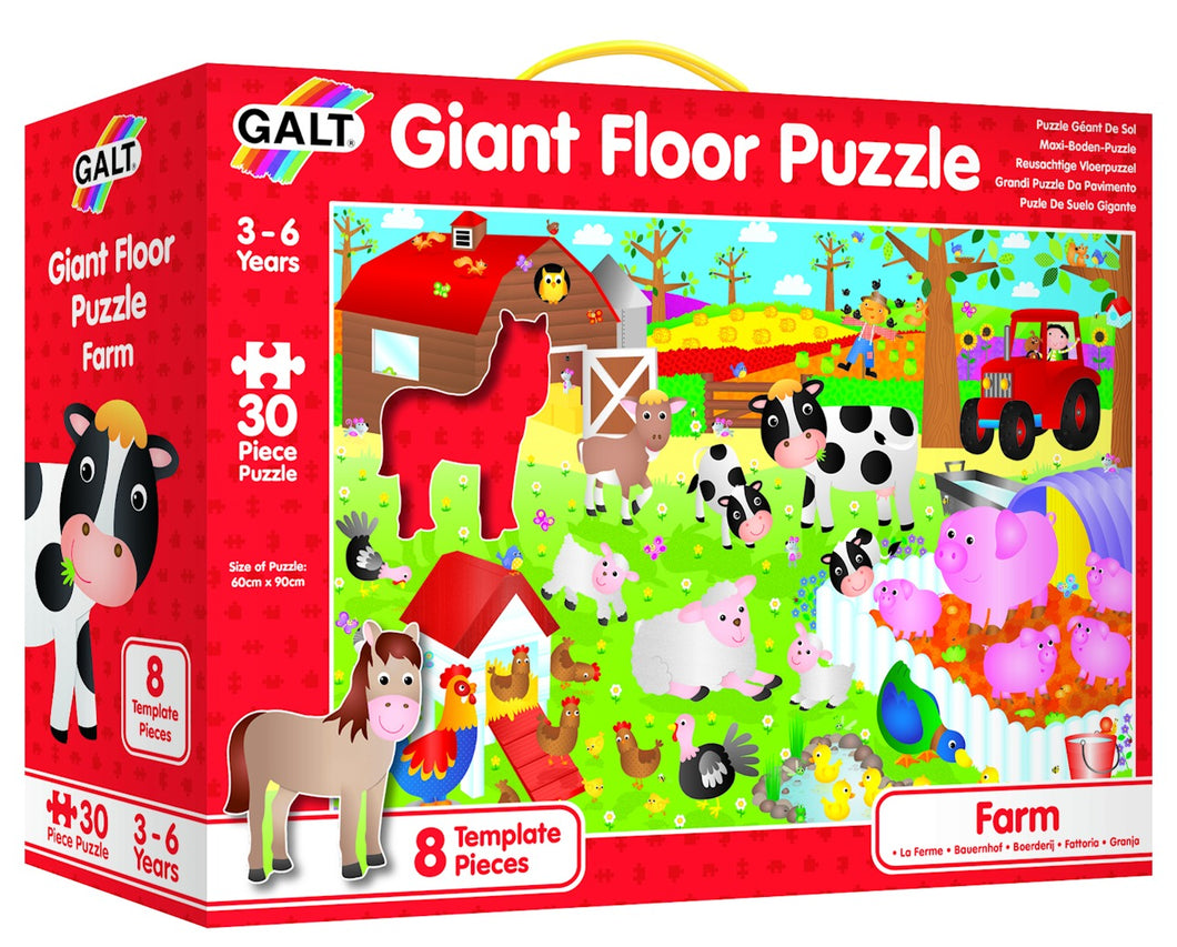 Galt Giant Floor Puzzle Farm - Beattys of Loughrea , www.beattys.ie