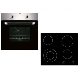 Zanussi Built-in Electric Single Oven and Ceramic Hob Pack | ZPVF4130X - Beattys of Loughrea , www.beattys.ie