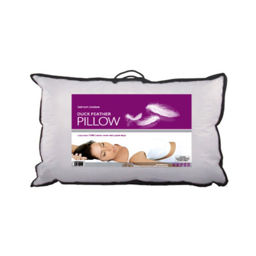 Bedroom Couture Duck Feather Pillow. Buy at Beattys Loughrea Galway. Www.beattys.ie