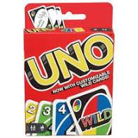 Uno Card Game  At Beattys Loughrea Galway. Www.beattys.ie