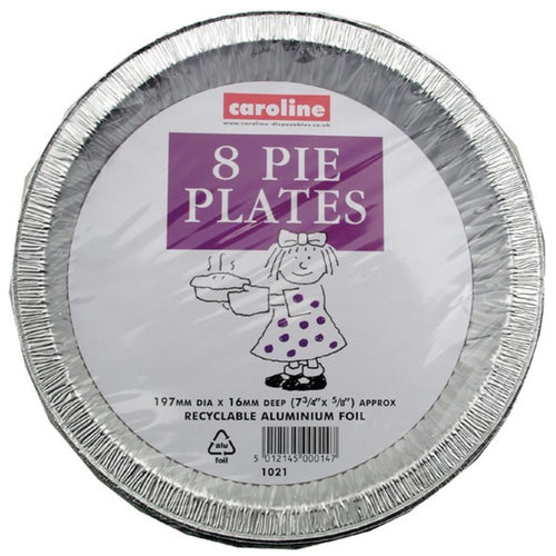 8pk Foil Pie Plates Buy Instore or online at beattys.ie