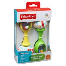 FisherPrice Shake N Rattle Maracas - Beattys of Loughrea , www.beattys.ie