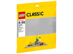 LEGO 10701 GREY BASEPLATE  At Beattys Loughrea Galway. Www.beattys.ie