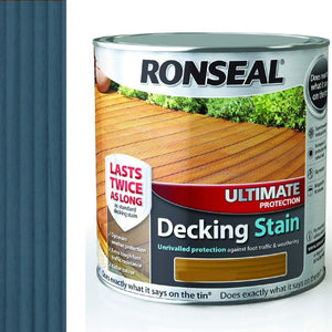 Ronseal Ultimate Protection Decking Stain - 2.5 Litre Country Oak  At Beattys Loughrea Galway. Www.beattys.ie
