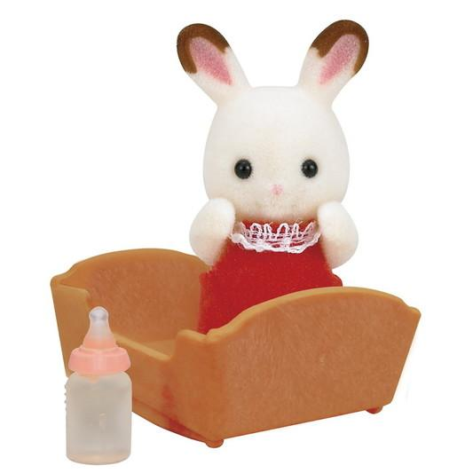Sylvanian Families Chocolate Rabbit Baby Set Buy Instore or online at beattys.ie