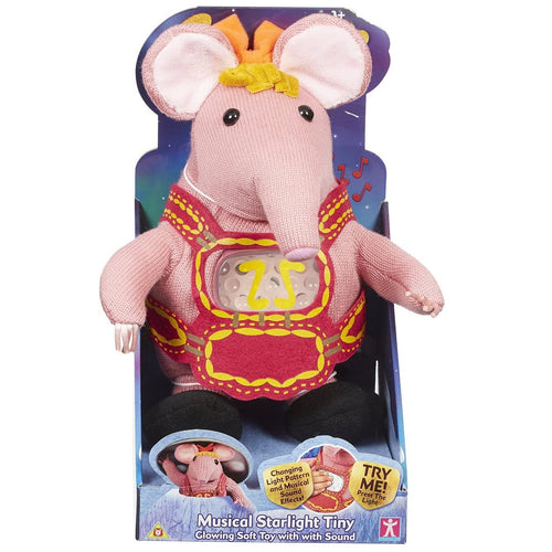 Clangers Lullaby Starlight Tiny Soft Toy Buy Instore or online at beattys.ie