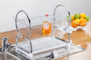 Judge Wireware, Dish Drainer. Material Chrome iron  At Beattys Loughrea Galway. Www.beattys.ie