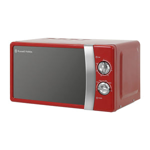 RUSSELL HOBBS RHMM701R 700W 17L MICROWAVE RED - Beattys of Loughrea , www.beattys.ie