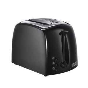RUSSELL HOBBS 21641 TEXTURES 2 SLICE TOASTER BLACK  Buy at Beattys Loughrea. Www.beattys.ie
