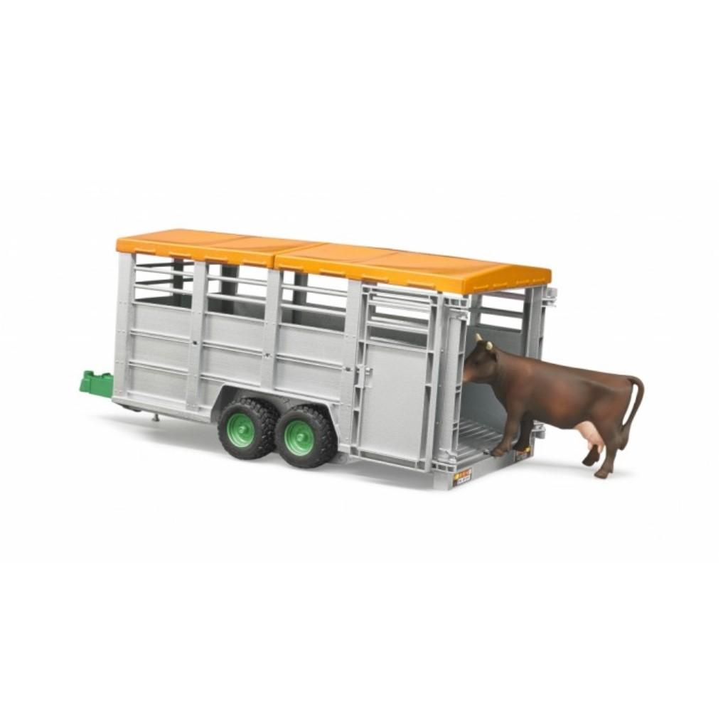 LIVESTOCK TRAILER WITH 1 COW - Beattys of Loughrea , www.beattys.ie