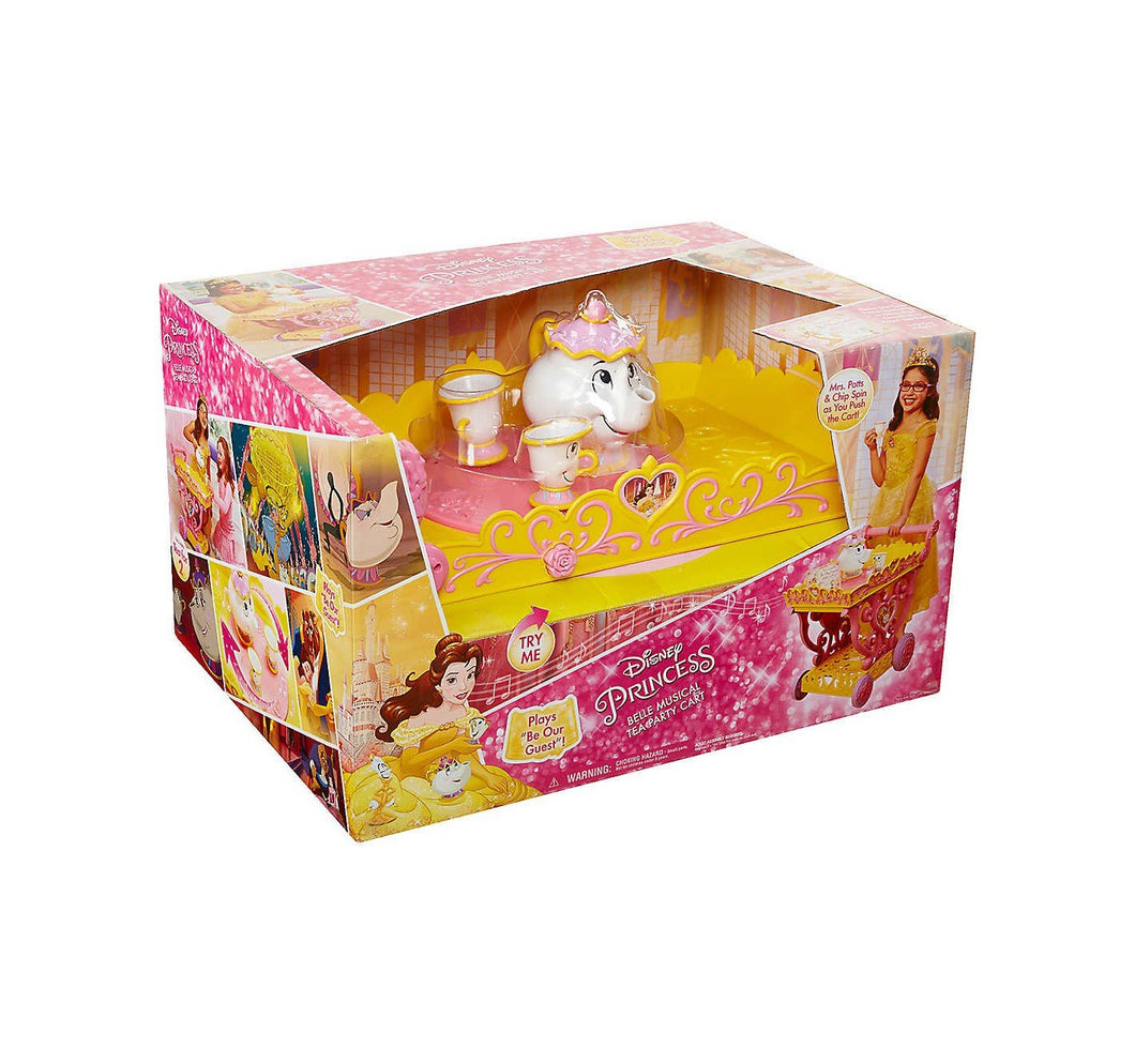 Disney Princess Belle Musical Tea Party Cart Buy Instore or online at beattys.ie