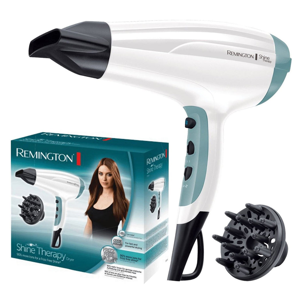 REMINGTON D5216 SHINE THERAPY 2300W HAIRDRYER  Buy at Beattys Loughrea. Www.beattys.ie