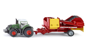 SIKU 1:87 FENDT W/POTATO HARVESTER 1808  At Beattys Loughrea Galway. Www.beattys.ie