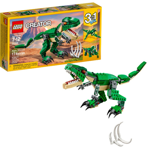 LEGO 31058 MIGHTY DINOSAURS  Buy at Beattys Loughrea. Www.beattys.ie