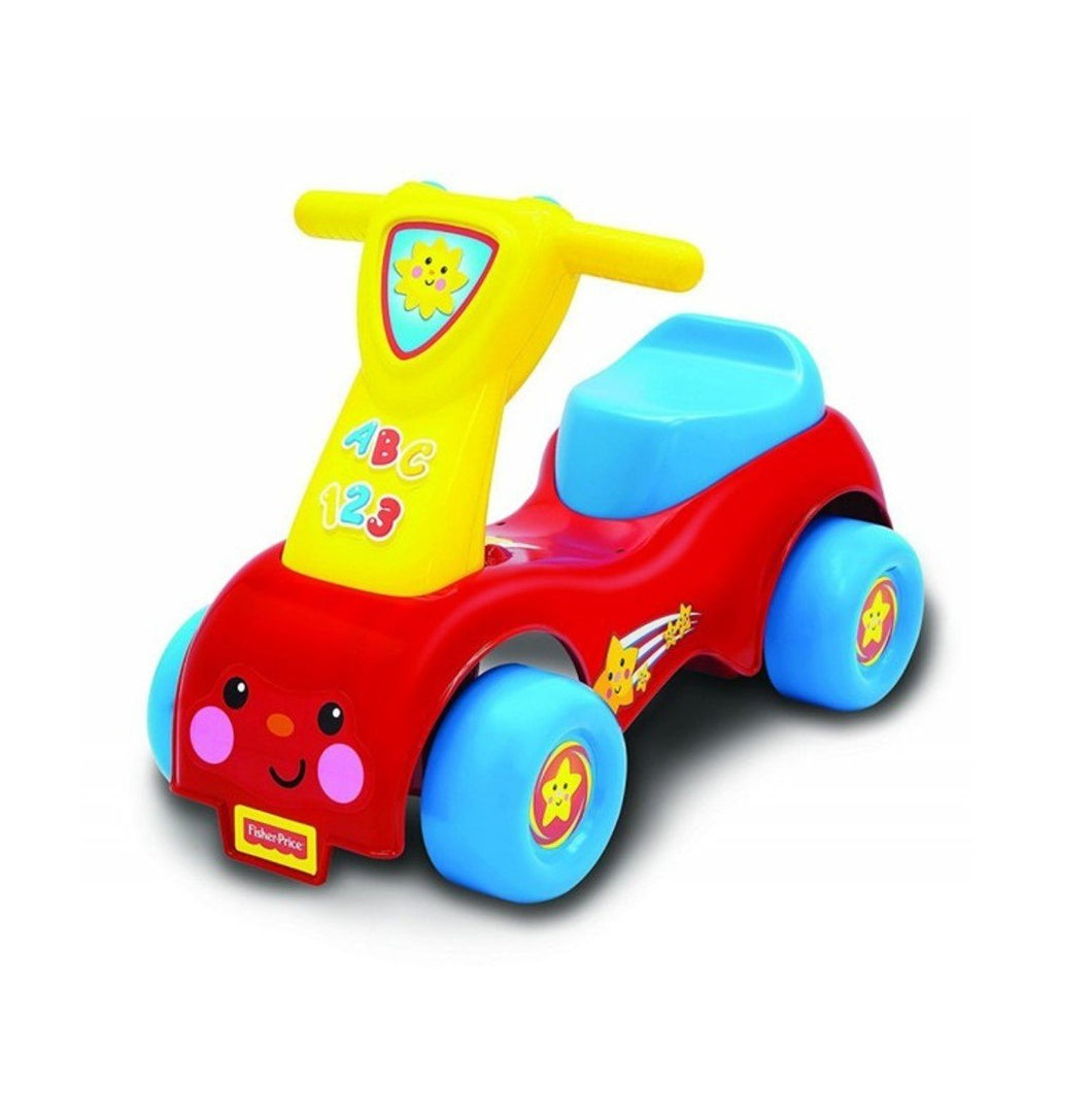 FISHER PRICE PUSH N SCOOT RED J068338 - Beattys of Loughrea , www.beattys.ie