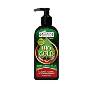 GOULDING 250ML BIO GOLD CONCENTRATED PLANT FOOD INDOOR & OUTDOOR HYG - Beattys of Loughrea , www.beattys.ie