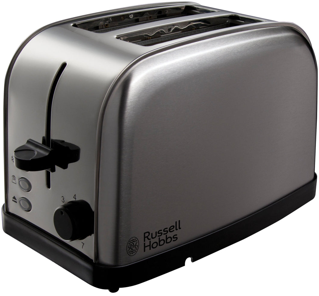RUSSELL HOBBS 18780 FUTURA 2SLICE TOASTER STAINLESS STEEL - Beattys of Loughrea , www.beattys.ie