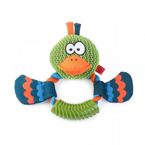'Dura - Duck' Ring Pet Toy - Beattys of Loughrea , www.beattys.ie