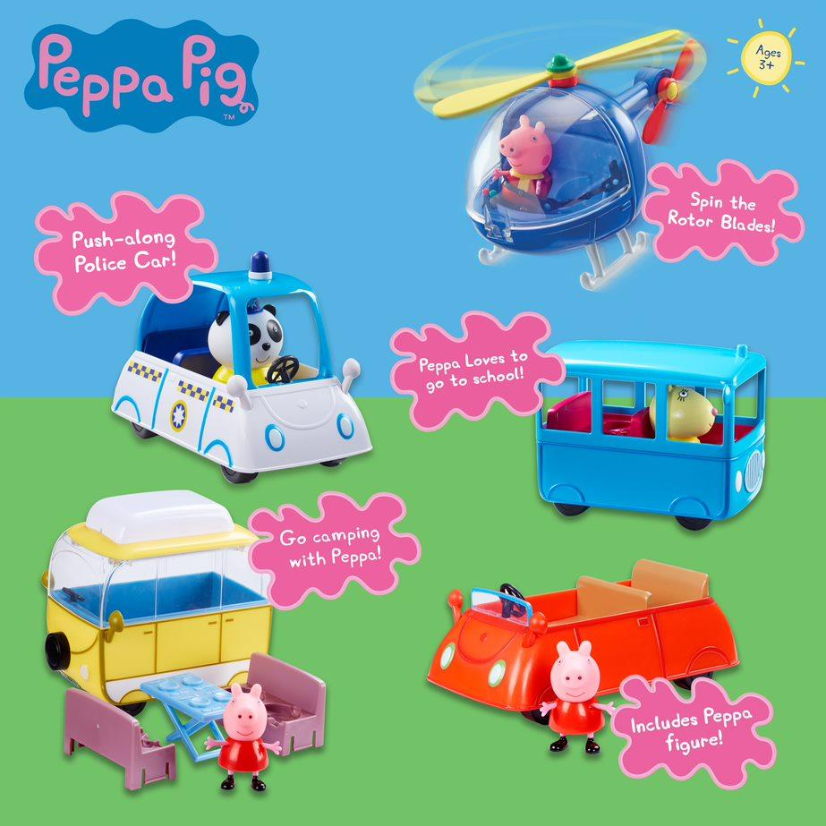 Peppa pig Vehicle Assorted Buy Instore or online at beattys.ie