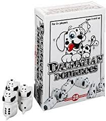 Dalmation Dominoes  At Beattys Loughrea Galway. Www.beattys.ie