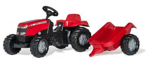 Rolly Massey Ferguson Tractor with Loader & Trailer  At Beattys Loughrea Galway. Www.beattys.ie