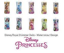 Disney Princess Watercolour Doll Asst Buy Instore or online at beattys.ie