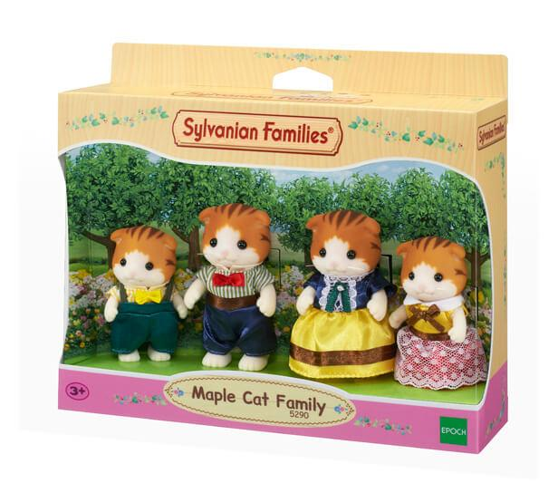 Sylvanian Families Maple Cat Family - Beattys of Loughrea , www.beattys.ie