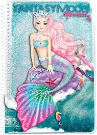Fantasy Model Colouring Book Mermaid Buy Instore or online at beattys.ie