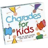 Charades for Kids  At Beattys Loughrea Galway. Www.beattys.ie
