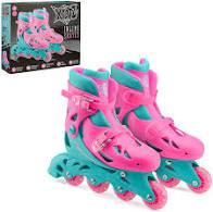 Xootz Inline Skates Pink. Buy at Beattys Loughrea Galway. Www.beattys.ie