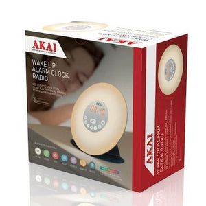 Akai A61023 Wake-Up Alarm Clock Radio - Beattys of Loughrea , www.beattys.ie