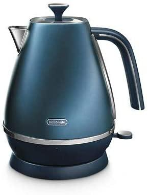 De'Longhi KBI3001.BL Kettle, Metallic Finish, Blue Buy Instore or online at beattys.ie