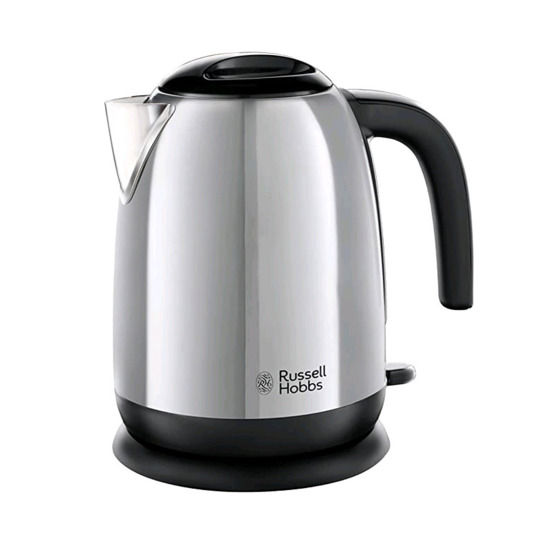 RUSSELL HOBBS 23911 ADVENTURE 1.7L KETTLE POLISHED STEEL  Buy at Beattys Loughrea. Www.beattys.ie