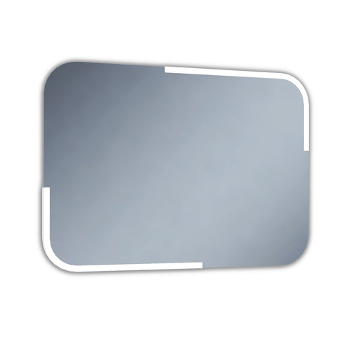 AquallaPorto 700 x 500 LED Mirror  700 x 500mm    BS2020  At Beattys Loughrea Galway. Www.beattys.ie