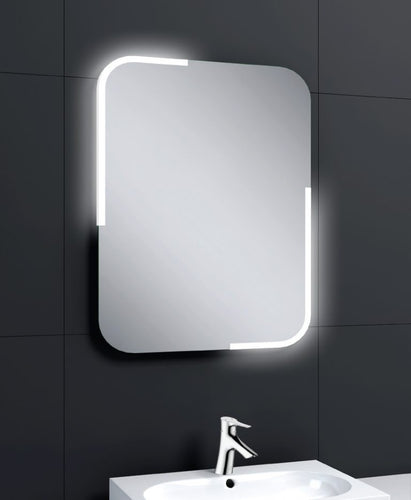 AquallaPorto 800 x 600 LED Mirror      BS2020  At Beattys Loughrea Galway. Www.beattys.ie