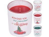DSK SCENTED CANDLE IN GLASS ASST HC7150830  At Beattys Loughrea Galway. Www.beattys.ie