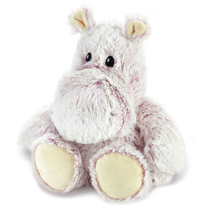 "Warmies® Large 13"" Marshmallow Hippo  Buy at Beattys Loughrea. Www.beattys.ie"