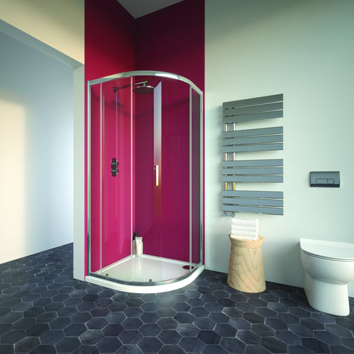 Bathroom Studio  City Plus Single Door Quadrant  800mmx800mm    BS2020  At Beattys Loughrea Galway. Www.beattys.ie