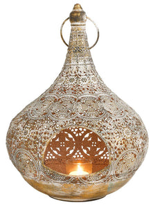 Mindy Brownes Zina Lantern Large  At Beattys Loughrea Galway. Www.beattys.ie