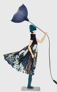 S40 PEPPER ANN LITTLE GIRL WINDY UMBRELLA LAMP Buy Instore or online at beattys.ie